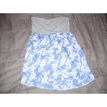 Vestido Straples Corto Maui : Talla S