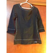 Polo Negro Glam Talla M Original