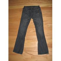 Pantalon Nuevo Jean Americano Bootcut Mujer 3 S Stock