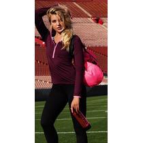 Polo Top Pink Sport Victoria Secret Mediano Deportivo