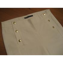 Pantalón Pitillo De Vestir Marca Zara Talla M