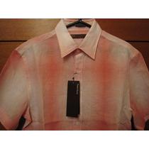 Perry Ellis Camisa Small Nueva Con Etiquetas Importada U S A