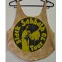 Polo Black Sabbath Mujer L Importado Original Vintage Ac Dc