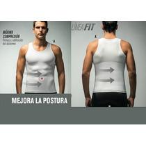 Camiseta Mayor Control Atletica Para Hombre Leonisa Oferta