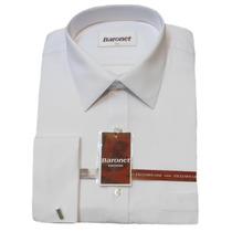 Camisas De Vestir Con Gemelos Labradas - Baronet
