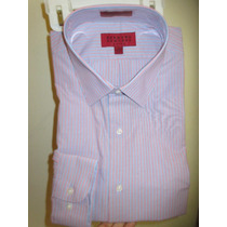 Linda Camisa Para Hombre Marca Bergamo New York