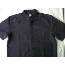 Quiksilver Camisa Small Manga Larga Original Nuevo U S A