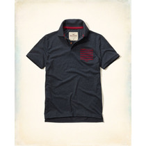 Polo Camisero Hollister By Abercrombie Traido Eeuu Talla M