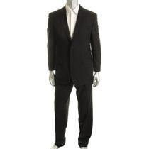 Terno Negro Izod Saco Talla 38r Y Pantalon 31 Medium M