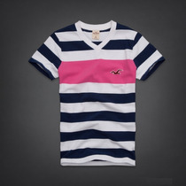 Polo Cuello V Rayas Shady Canyon Talla L