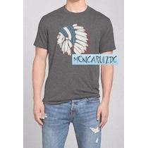 Abercrombie & Fitch Tee Polo Indio Nativo Apache Americano