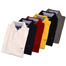 Polo Camisero Hombre Tommy Hilfiger Talla Small Medium Large