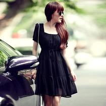 Chicas Glamorosas - Vestido Chiffon Con Lasito Diseño Corea