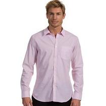 Calvin Klein Camisa Small Slim Fit Original Nuevo Etiq U S A