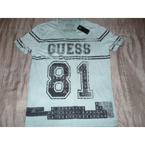 Polo-4 Guess Cuello V : Talla L