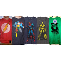 Dc Comics Marvel Official Polos Para Adultos Importados