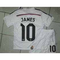Real Madrid James - Niños (camiseta + Short) 2014-2015