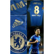 Camiseta Chelsea 2012/2013 Europe League Lampard