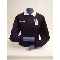 Camiseta Referee Black Diadora Good Conditions ! ! !