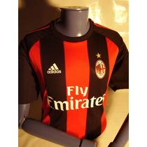 Camiseta Milan Ac Nueva Import From Italy ! ! ! ! ! ! ! ! !