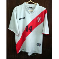 Camiseta Seleccion Peru Walon 14 Pizarro No Umbro