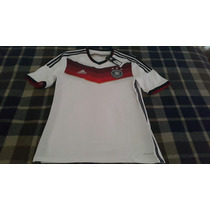 Camiseta De Alemania Mundial 2014 Talla M En Stock