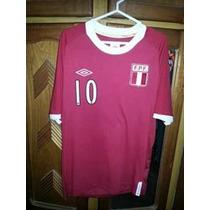 Camiseta Peru Copa America 2011 De Juego