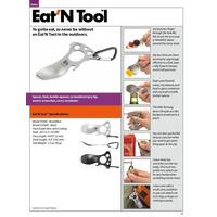 Eat N Tool Cuchara Tenedor Desarmador Llave De Tuercas