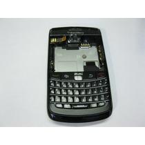 Carcasa Completa Blackberry Bold 9780 - Negro -blanco