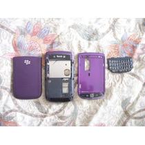 Pedido Carcasa Cover Blackberry 9800 Torch Morado