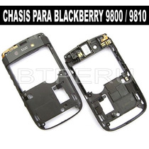 Chasis Parte Central Blackberry 9800 9810 Torch Botones Jebe