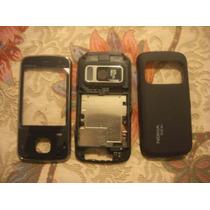 Carcasa Cover Nokia N86 Black Completo Teclado Pedido