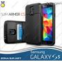 Slim Armor Cs Galaxy S5, Protector Tarjetero Spigen Case Tpu