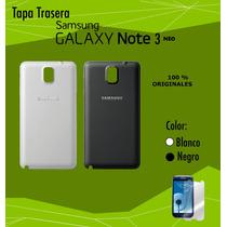 Tapas Samsung Originales Note 3,note 3 Neo Blanco O Negro .