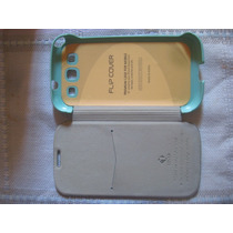 Case Premiun Flip Cover Samsung Galaxy S3 /oferta/koreano