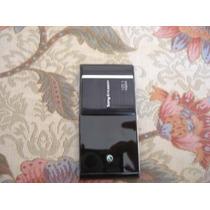 Carcasa Cover Sony Ericsson Satio Color Negro A Pedido