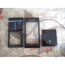 Pedido:carcasa Cover Sony Ericsson Satio Negro