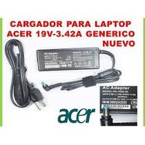 Cargador De Laptop Acer 19v - 3.42a