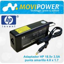 Cargador Hp Compaq 18.5v 3.5a Punta Amarilla.
