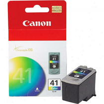 Cartuchos De Tinta Canon Pixma Cl-41l Color