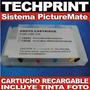 Sistema Continuo Epson Picturemate Recargable Autoreset Foto