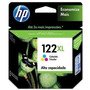Cartucho De Tinta Hp 122 Xl Color Original 60% De Ahorro