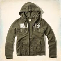 Casaca Polera Hollister, Talla S, 100% Original