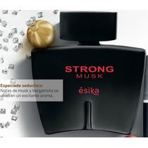 Perfume Strong Musk Hombre Esika Nuevo Sellado Garantía!!!!!