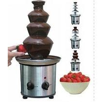 Pileta Chocolate 3 Pisos Acero Inoxidable !! Disfrutalo !