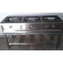 Remato Cocina Industrial Inoxidable 03 Hornillas S/.1,000.00