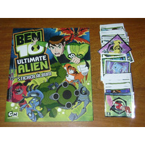 Album Ben 10 - Ultimate Alien - Completo A Pegar !!