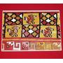 Tarjeta Navidad Museo Amano Cultura Chancay Perú Tejido Lana