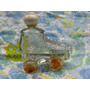 Mundo Vintage: Antigua Botellita Perfume Forma Patin Yanbal