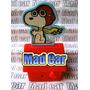 Mc Mad Car Muñeco De Coleccion Snoopy Casa